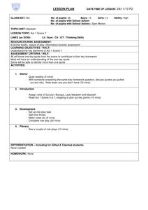 Printables Macbeth Worksheets pinterest the worlds catalog of ideas a selection complete lesson plans and teaching with accompanying worksheets printable ready to use support macbeth by william sha