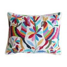 Alegria Home Multicolor Otomi Pillow