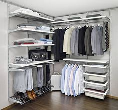 Dressing Room - Best Selling Solution 3. White and platinum