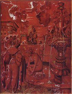 Niklaus Manuel Deutsch.  Der Tod als Kriegsknecht umarmt ein Mädchen. 1517, Holz, 37 × 28 cm. Basel, Kunstmuseum. Schweiz. Renaissance.  KO 02776