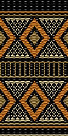 mochilla telpatroon 56 kolommen #crochet