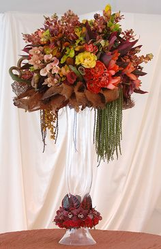 Centerpiece For a Caribbean Beach Front Reception | Inspirations