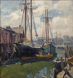 Underpaintings: Color Palettes: Emil Albert Gruppé (1896-1978)