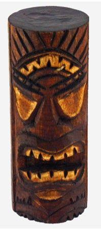 Hawaiian Tiki God Statue   Luau Party Decorations for Adults $4.95