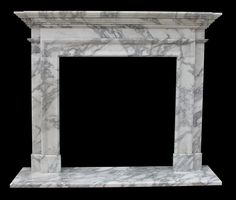 Marble Fireplace Surround Sale | Travertine | Italian Arabesco | Sandstone Facings Artisan Kraft