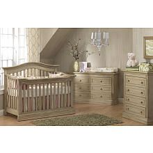 "OOOH! This is nice and will match our new bedroom set! Need to check quality @ the store, tho!  Baby Cache Montana Lifetime Crib - Driftwood - Baby Cache - Babies ""R"" Us"