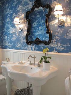 BATHROOM – The Enchanted Home: Bloggers beautiful abodes, Mel of Georgica Pond!