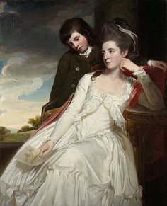 """""""Jane Maxwell, Duchess of Gordon, and her Son"""", George Romney, 1778; National Galleries of Scotland PG2208"""