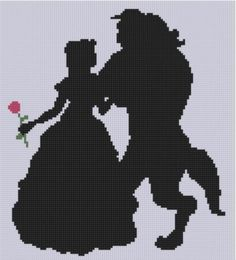 Looking for your next project? You're going to love Beauty and the Beast Cross Stitch Patter by designer bracefacepatterns. - via @Craftsy