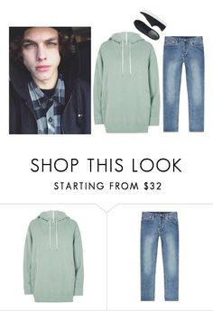 """ootd — Jordan"" by hxnters ❤ liked on Polyvore featuring River Island, A.P.C., Uniqlo, men's fashion and menswear"