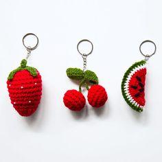 jouet-porte-clé fruit en crochet Numéro 74