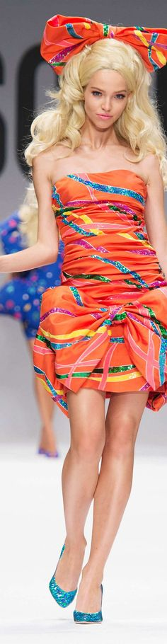 Moschino Collection Spring 2015 | The House of Beccaria~