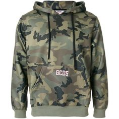 Gcds camouflage print hoodie (650.905 COP) ❤ liked on Polyvore featuring men's fashion, men's clothing, men's hoodies, dad, green, mens camo hoodies, mens camouflage hoodies, mens sweatshirts and hoodies and mens hoodies