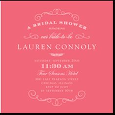 awesome 52 Best Classic Bridal Shower Invitations You Can Try  https://viscawedding.com/2017/06/07/52-best-classic-bridal-shower-invitations-can-try/