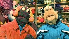 ZIG AND ZAG!!!!! Every kid in Ireland in the 80's watched these two after school.