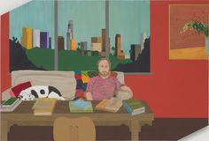 Ed Templeton,  Portrait of Mike Mills, 2008