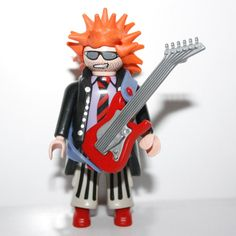 Guitariste punk playmobil - Play-Original