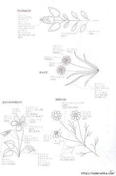 """""""Herb flowers"""". Журнал по вышивке.. Обсуждение на LiveInternet - Российский Сервис Онлайн-Дневников"""