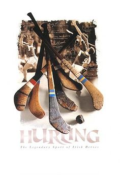 GAA Historical Pictures - Gaa Hurling Irish Sports Montage Large Poster GAA - Ireland's national aport, hurling has been played since ancient times and is the fastest field game in the world. This is a great GAA hurling poster Irish Games, Find My Ancestors, Irish Store, Old Irish, Irish Eyes Are Smiling, Irish Roots, Emerald Isle, My Favorite Image, Historical Pictures