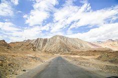 Way for the ladakh leh india. - The way to the Ladakh Leh.