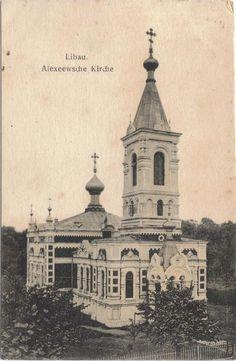 Alexeewsche Kirche. Libau 1900-1910