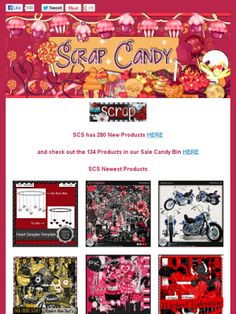AD:See What's New this weekend @ the Scrap Candy Store! http://mad.ly/983923