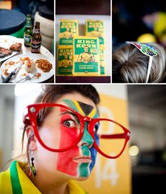 a south african theme party. yes please. printables on site.