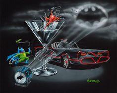 Bat-tini by Michael Godard