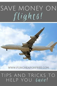 Pay less for flights - tips and tricks to save a BUNDLE! Spring Break, anyone?! www.FunCheapOrFree.com