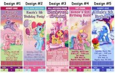 Birthday My Little Pony Age Two A Wish for a sweet little girl whos