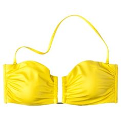 Mossimo® Womens Mix & Match Bandeau Swim Top - Yellow.Opens in a new window