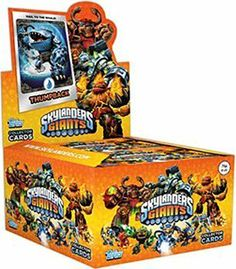 MLB Skylanders Trading Cards Pack of 24 by Topps. $64.99. 32 New Skylander Pose Characters on mirror foil including 8 all new Skylanders. 12 Magic Item and Location magic items are part of Skylanders Universe. Topps Skylanders Giants Trading Cards tell the story behind each character for a high level of engagement. 12 Magic Item and Location Magic items are part of Skylanders Universe Each Skylander card back tells the story of each characters and shows their association w...