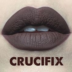 Kat von D Crucifix - one of the 20 new shades of Everlasting Liquid Lipstick launching this year 2016.