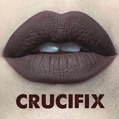 Say hello to #Crucifix - one of the 20 new shades of @katvondbeauty Everlasting Liquid Lipstick launching this year!