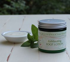 Exhilarating Foot Lotion - Invigorating peppermint wakes up tired feet. This lotion works well to invigorate and revitalize swollen, achy or dry feet at the end of the day. Feet bare, shivering and exhilarated by the cold and freedom of the first snow. Tired Feet, Peppermint, Lotion, Herbalism, Freedom, Skincare, Earth, Snow, Cold