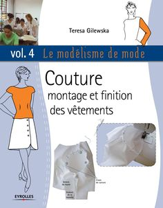 Le modelisme de mode vol 4 by Elen Deo - issuu Sewing Paterns, Couture Sewing Techniques, Teresa, Tailoring Techniques, Sewing Class, Couture Tops, Pattern Drafting, Book Crafts, Pattern Books