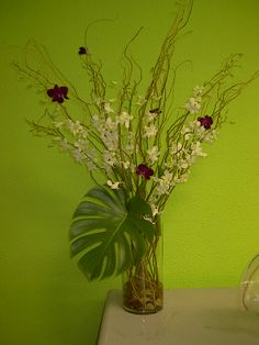 floral designs orchids in willow   Wedding Centerpieces- Modern Flower Designs- Delivery in Las Vegas ...