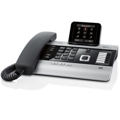 There's no doubt about it - Gigaset do make some lovely IP phones for business - such as the Gigaset DX800A. http://www.transparent-uk.com/siemens-gigaset-dx800a-voip-and-isdn-system-phone.html