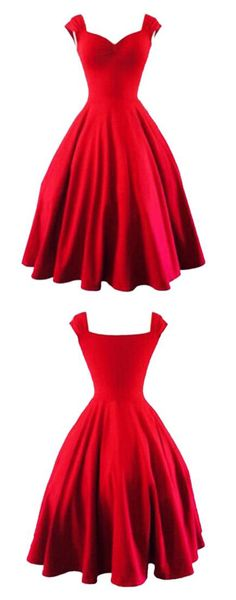 Try a red dress this time to stay chic from head to toe!