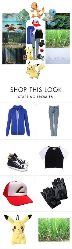 """""""""""I wanna be the very best"""" (Gen1)"""" by kitty-cafe ❤ liked on Polyvore featuring Cheap Monday, Converse, Nintendo, Mew. and MAC Cosmetics"""