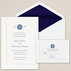 Celtic Knot Wedding Invitation | Irish Wedding Invitations
