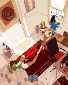 Pascal Campion「Saturday Late morning」(2015)