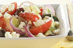 Greek Tomato, Cucumber, Feta Salad