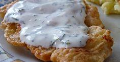 Obiad - Piersi z kurczaka w cieście czosnkowym