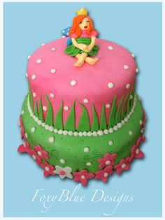 FoxyBlue Creations - fairy cake!