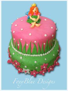 FoxyBlue Creations - fairy cake!