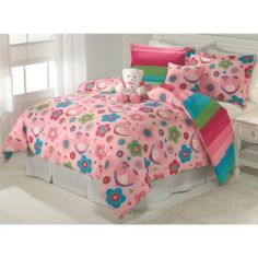 ColourMatch Colour Match Chocolate and Cafe Mocha Bedding Set Single Bed New