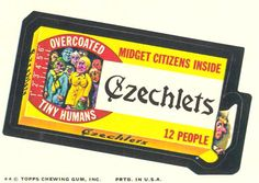 Wacky Packages 9th Series 1974