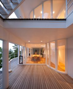 Slim sightlines make this house very asthetically pleasing