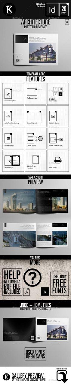 Architecture Design Template architecture portfolio landscape template | architecture portfolio